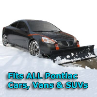Auto Straight Snow Plow- Fits All Pontiac Cars, Vans & SUVs