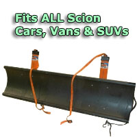 Auto Straight Snow Plow- Fits All Scion Cars, Vans & SUVs