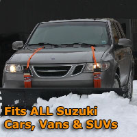 Auto Straight Snow Plow- Fits All Suzuki Cars, Vans & SUVs