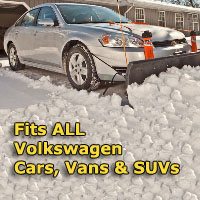 Auto Straight Snow Plow- Fits All Volkswagen Cars, Vans & SUVs