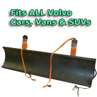 Auto Straight Snow Plow- Fits All Volvo Cars, Vans & SUVs