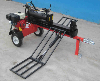 45 Ton Fast Cycle Log Splitter With Hydraulic Log Lift