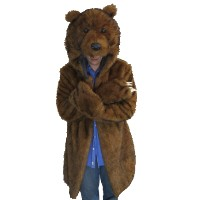 Brand New Furry Bear Coat