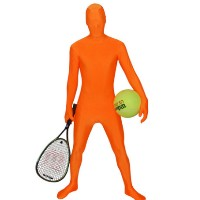 Brand New Orange RootSuit - Official Spandex Suit