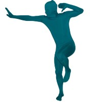 Brand New Teal RootSuit - Official Spandex Suit