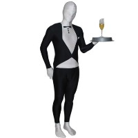 Brand New Tuxedo RootSuit - Official Spandex Suit