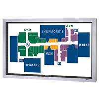 """47"""" SunBriteTV Marquee Series Landscape Touch Screen True Outdoor All-Weather Digital Signage Display LCD Television - Model 4707TSL"""