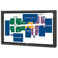 """55"""" SunBriteTV Marquee Series Landscape Touch Screen True Outdoor All-Weather Digital Signage Display LCD Television - Model 5507TSL"""