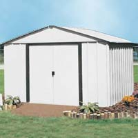 Arlington 10'W x 8'D Arrow Metal Backyard Storage Shed Kit