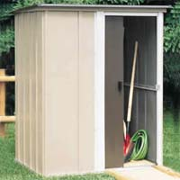 Brentwood 5'W x 4'D Arrow Small Metal Storage Shed Kit