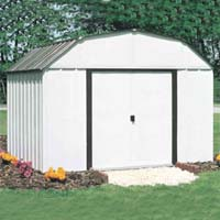 Concord 10'W x 14'D Arrow Metal Backyard Storage Shed Kit