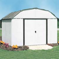 Concord 10'W x 8'D Arrow Outdoor Metal Storage Shed Kit