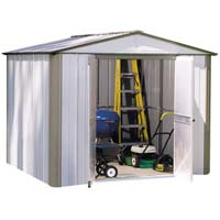 The Big Ezee Shed 8'x9' Arrow Backyard Storage Shed Kit
