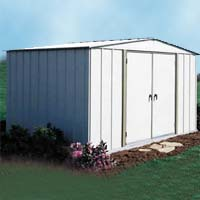 Homestead 10'W x 8'D Arrow Severe Weather Storage Shed