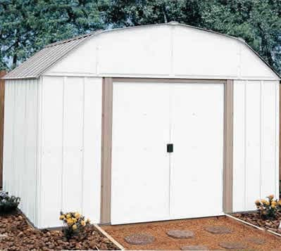 Lexington Arrow Outdoor Metal Storage Shed Kit
