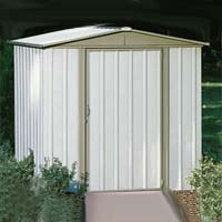 Sentry 6'W x 5'D Arrow Backyard Metal Garden Storage Shed Kit