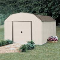 Arrow 10'W x 14'D Vinyl Coated Yorkshire Shed