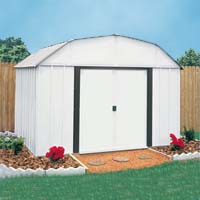 Yorktown 10'W x 8'D Arrow Metal Outdoor Storage Shed Kit