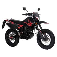 200cc Enduro Street Legal 4 Stroke Dirt Bike  - California C.A.R.B. Approved