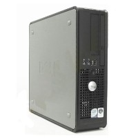 Dell Optiplex 755 Intel Dual Core Small Desktop Computer PC WIN 7 Pro, 2GB RAM, 80GB HD