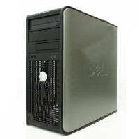 Refurbished Dell Optiplex Dual Core 3.4GHZ Desktop PC, 2GB, 80GB, Win 7
