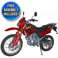 Brand New 200cc Enduro 4 Stroke Dirt Bike