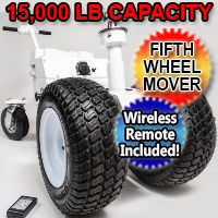 5th Wheel Mover Electric Powered RV Transformer Trailer Dolly - 15000lb Capacity