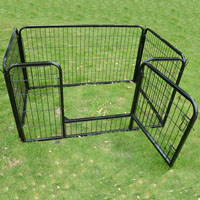 "New Heavy Duty Pet Dog Cat Portable 27'.6"" Exercise Pen Playpen Fence Yard Kennel"