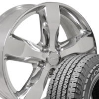 "20"" Jeep Grand Cherokee Fortera Wheels & Rims Set - Fits 1999-2004 & 2011-2012 Models"