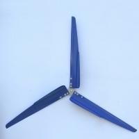 "Brand New Set of 3 28"" P Series Aluminum Wind Turbine Blades"