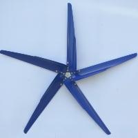 "Brand New Set of 5 28"" P Series Aluminum Wind Turbine Blades"