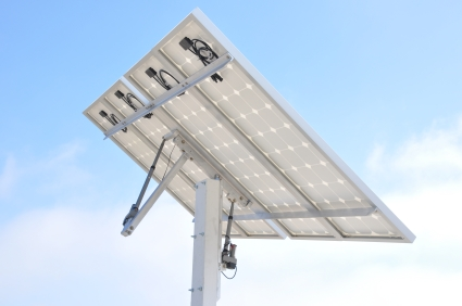Solar Tracker Complete Kit With Solar Panels Dual Axis