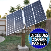 Solar Tracker Complete Kit with Solar Panels