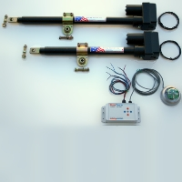 Brand New Heavy Duty Dual-Axis Solar Tracker Parts Kit
