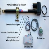 Brand New Heavy Duty Single-Axis Solar Tracker Parts Kit
