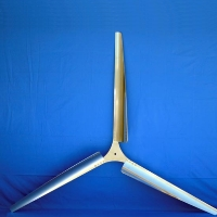 "Brand New Set of 3 35"" WindGrabber Aluminum Wind Turbine Blades"