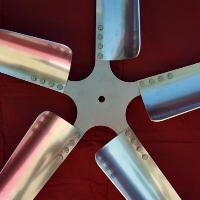 "Brand New Set of 5 35"" WindGrabber Aluminum Wind Turbine Blades"