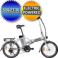 300 Watt Electric Folding E-Bike 6 Speed With Brakes