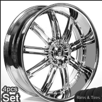 "22"" Land Rover/Range Rover Wheels & Tires Set - FX35 Rims. Fits on Every Range Rover, FX35 Incl. Sport & Turbo (All Years), Discovery(2002-Current), Infiniti FX35"
