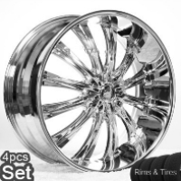 "22"" BEN Land Rover/Range Rover Wheels & Tires Set - FX35 Rims. Fits on Every Range Rover, FX35 Incl. Sport & Turbo (All Years), Discovery(2002-Current), Infiniti FX35"