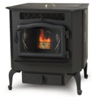 High Quality Flex Fuel Country Flame Harvester Pellet/Corn Burning Stove - HR-01-BLK