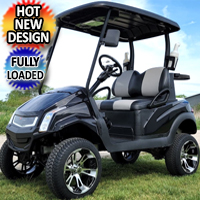 48V Gas Golf Cart Club Car Precedent - Fully Loaded!