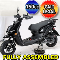 Amigo 150cc 8.5 HP Gas Moped Scooter - JAX-150