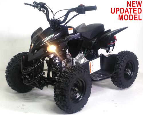 50cc Atv Gas Sport Quad With Electric Start & Throttle Limiter W/ 58cc  Motor - Model 6B 60A-2