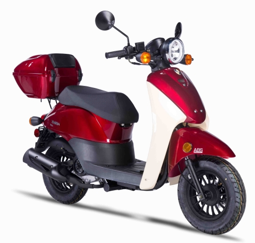 znen 50cc 4 stroke gas moped scooter with alarm usb adapter psc 50 rh saferwholesale com Kymco 50Cc Scooter Kymco 50Cc Scooter