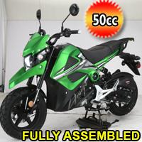 Amigo 50cc 4 Stroke Gas Moped Scooter - RAMBO 50cc
