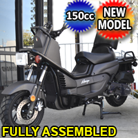 Znen 150cc 4 Stroke Gas Moped Scooter - Zn150T-G