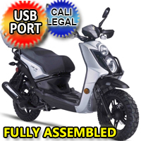 Znen 150cc 8.5 HP Gas Moped Scooter - RX-150