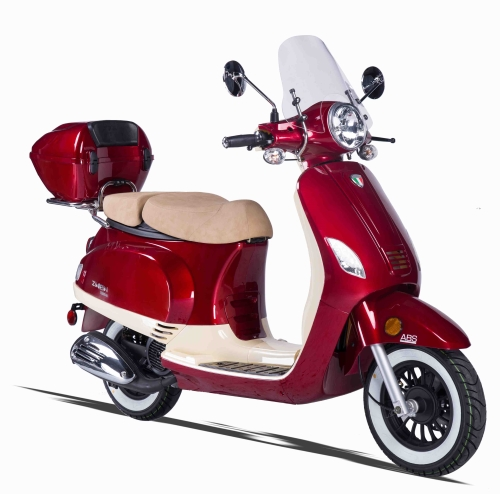 Znen 50cc 2 Tone 4 Stroke Gas Moped Scooter Zn50 30 A 2 Tone 50cc