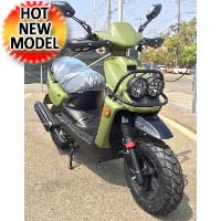 Amigo 150cc 4 Stroke Gas Moped Scooter - WARRIOR 150cc